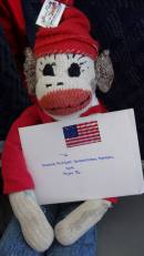 Honor Flight Sock-Monkey