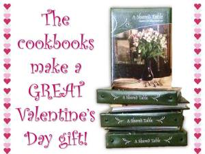 Cookbooks for Valentines Day 2015