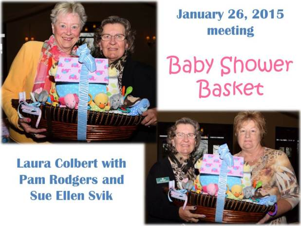 TWOQC baby shower basket _ 2015