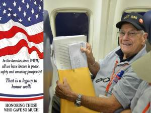 This will mark the 21st Honor Flight for Southern Arizona.
