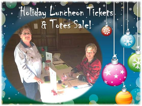 twoqc luncheon tickets and totes sale_Dec 2, 2015