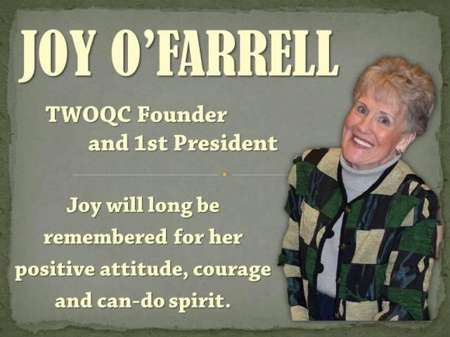 Joy O'Farrell _ photo