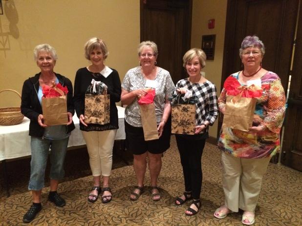 Congratulations, door prize winners!