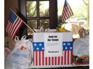 Food for the Troops _July 2016