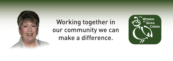 FMM header, Carol Mutter, president, working together in our community, make a difference