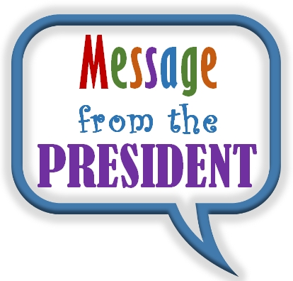 Message from the President clipart