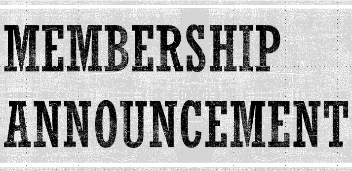 Membership Announcement logo