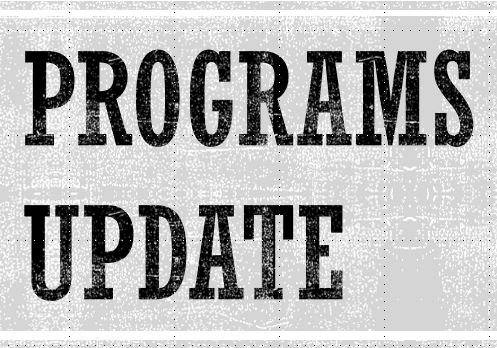 Programs Update logo