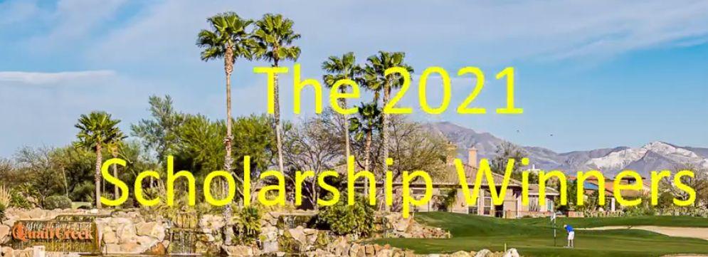 Scholarship winners 2021 video clipart