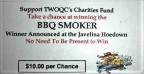 Smoker BBQ Grill Raffle Tix (2b)